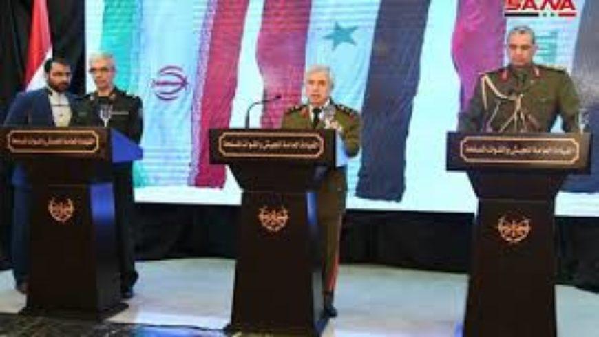 قادة «الحلفاء» في دمشق: نحو ربط العواصم براً… وطرد الأميركيين