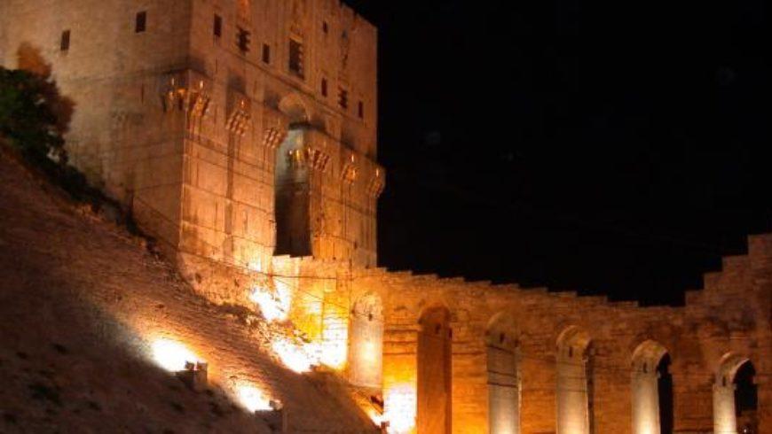 قلعة حلب الشهباء