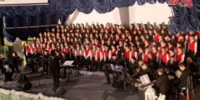 أمسية كورالية غنائية في طرطوس بعنوان أبواب السلام