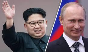 قرب انعقاد أول قمة بين بوتين وكيم