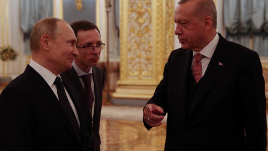 لقاء بوتين ــ أردوغان: تفاهمات عامة… لا تُذلّل العقبات