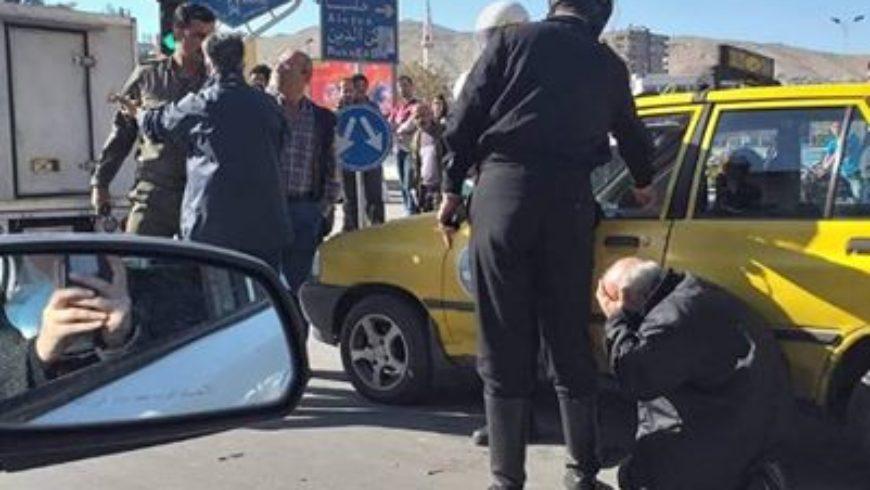 """""""مرور دمشق"""" تعلق بعد انتشار صورة قيل إنها لشرطي يضرب سائقا"""