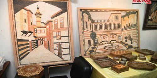 مهرجان دمشق الثقافي يحيي ذاكرة مدينة الياسمين بأيدي حرفييها