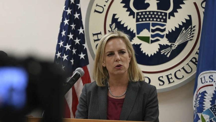 وزيرة الأمن الداخلي الأمريكية تستقيل من منصبها
