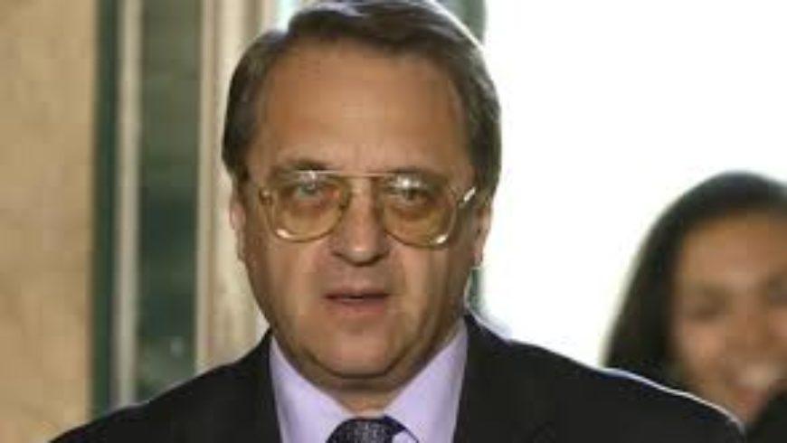 بوغدانوف يؤكد دعم موسكو لدور الطوائف المسيحية في الشرق الأوسط