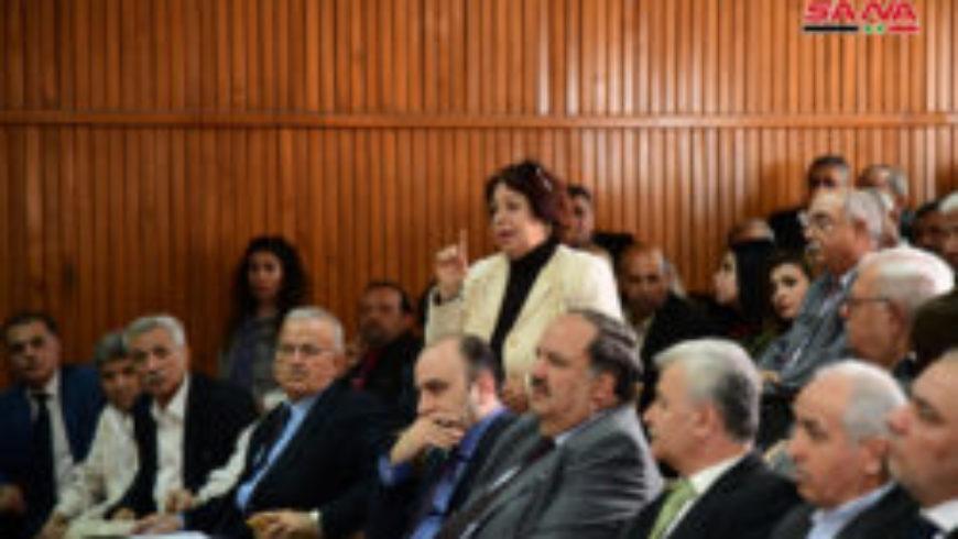 المؤتمر السنوي لاتحاد الصحفيين يناقش واقع الإعلام السوري