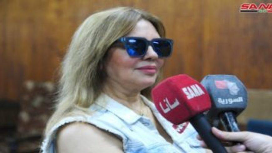 سلمى المصري: الموسم الحالي يثبت تعافي الدراما السورية-سانا