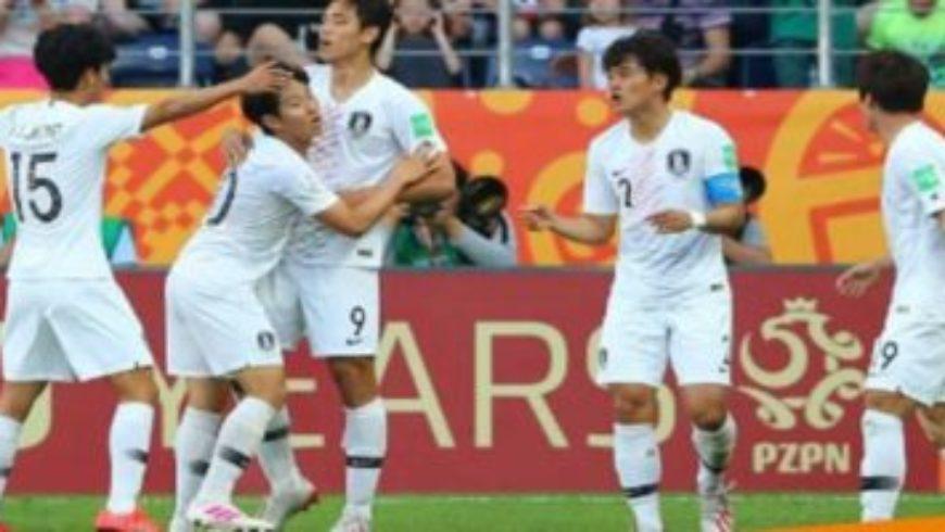 كوريا الجنوبية تتأهل لنهائي بطولة العالم للشباب بكرة القدم