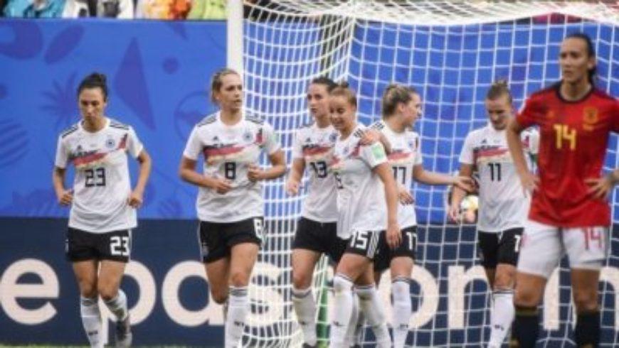 ألمانيا تفوز على إسبانيا بشق الأنفس في مونديال السيدات