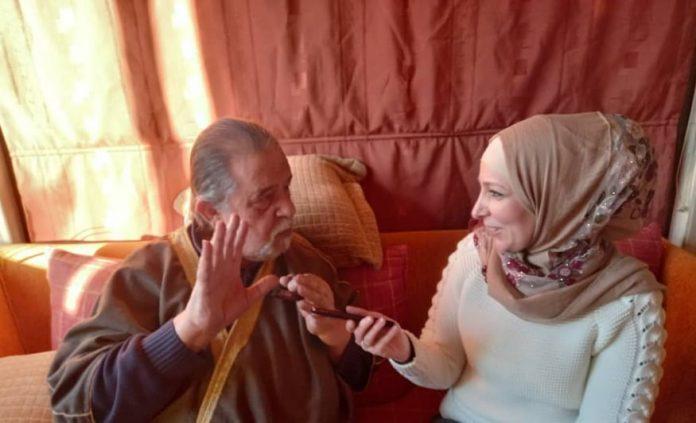 المخرج والممثل مظهر الحكيم,موقع أصدقاء سورية