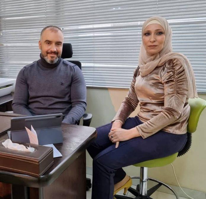 د. نبراس الملحم الأخصائي لموقع أصدقاء سورية.موقع أصدقاء سورية.
