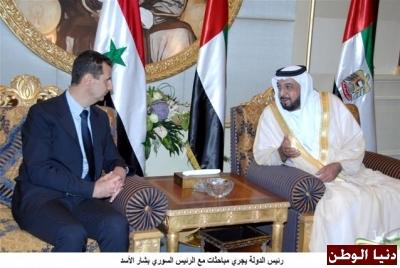 الرئيس الأسد يتلقى برقيات تهنئة من رؤساء روسيا الاتحادية وبيلاروس والإمارات وإيران وأبخازيا وملك ماليزيا بعيد الجلاء