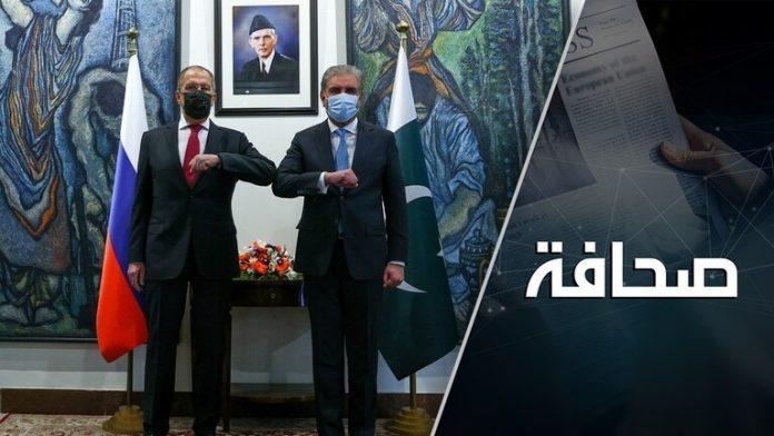 روسيا تنضم إلى اللعبة الكبيرة في جنوب آسيا.موقع أصدقاء سورية.