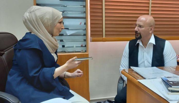 لقاء مع الدكتور أحمد علي الشعراوي عميد كلية الإعلام في جامعة الحواش.موقع أصدقاء سورية.