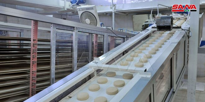 بعد تجديده بالكامل.. عودة مخبز الزاهرة بدمشق للعمل بطاقة إنتاجية 12 طناً يومياً.موقع أصدقاء سورية.