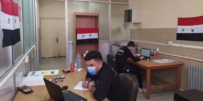 الفريق العالمي للأولمبياد السوري يشارك في أولمبياد الفيزياء الأوروبي.موقع أصدقاء سورية.