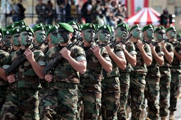 الجيش اللبناني يمد يده.موقع أصدقاء سورية.