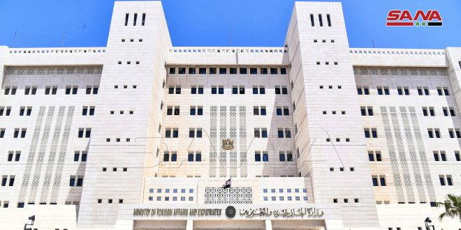 رالخارجية: ما يسمى بـ(الحكم الذاتي) ما هو إلا مجرد مشاريع تهدف إلى إضعاف سورية في مواجهة المؤامرات - موقع أصدقاء سورية