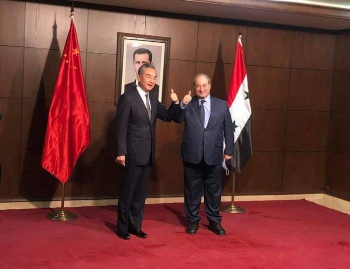 الصين دعت إلى التخلي عن الأوهام بشأن الأسد