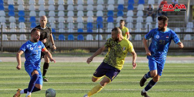 فوز جبلة على الحرجلة في ختام الجولة الرابعة من الدوري الممتاز لكرة القدم.موقع أصدقاء سورية.