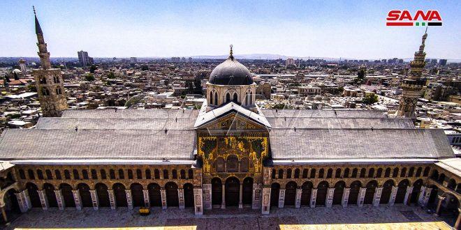 مآذن الجامع الأموي… تحف معمارية تحلق في سماء دمشق.موقع أصدقاء سورية.